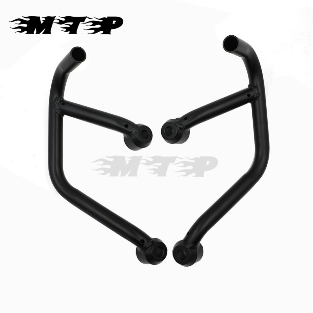 Motorcycle Steel Engine Guard Covers Crash Bars Protection Bumper For Yamaha MT09 MT-09 FZ09 FZ-09 MT FZ 09 2013 2014 2015 2016 high quality for bmw r1200gs 2013 2014 2015 motorcycle upper engine guard highway crash bar protector silver