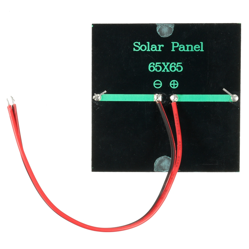 LEORY 0.6w 5.5V Mini Solar Panel DIY Sunpower Solar Cells Battery Charger System Kits For Car Battery RV Boat home