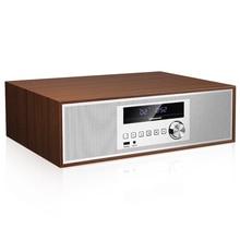 ใหม่ซีดีเสียงบ้านบลูทูธลำโพงวิทยุFMสำหรับนาฬิกาปลุก