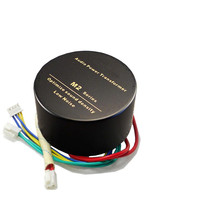20W Dual 12V Audio Power Transformer Ring Epoxy Potting Amplifier Power Supply With Antimagnetic Shielding Metal Shell