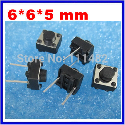 Lights & Lighting Free Shipping 1000pcs Touch Micro Switch New Red 3*6*2.5mm 3x6x2.5mm Smd2