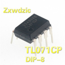 цена 10PCS TL071CP TL071 DIP-8 071CP  TL071C  DIP8 New and Original IC в интернет-магазинах