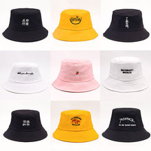 90ac6da0ec0c5 Solid color Bucket Hats shading flat caps outdoor fishing hunting fisherman  sunscreen folding cap(China