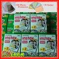 100 hojas de fujifilm instax mini 8 film válida hasta 2018-10 + free regalo para instantánea polaroid cámara de fotos de papel 7 s 8 25 70 90 SF1