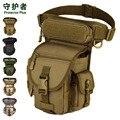 Alta Qualidade Drop-Leg Equipamento Militar Bolsos Bolsa Saco do telefone Móvel de Multi-Cor Opcional A2669 ~ 1