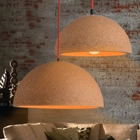 Simple Creative Cork Droplight Modern LED Pendant Light Fixtures For Dining Room Bar Hanging Lamp Indoor