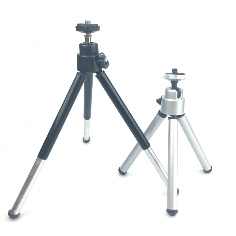 Mini Tripod For iphone 6s 7 Samsung Xiaomi Phone With Phone Clip Tripod Stand Mount for Nikon Gopro 5 4 Session Yi Camera universal cell phone holder mount bracket adapter clip for camera tripod telescope adapter model c