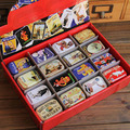 Zakka Storage Box Jewelry Box Grocery Retro Nostalgia Box Vintage Small Metal Tins Storage Box Organizer Pill Case