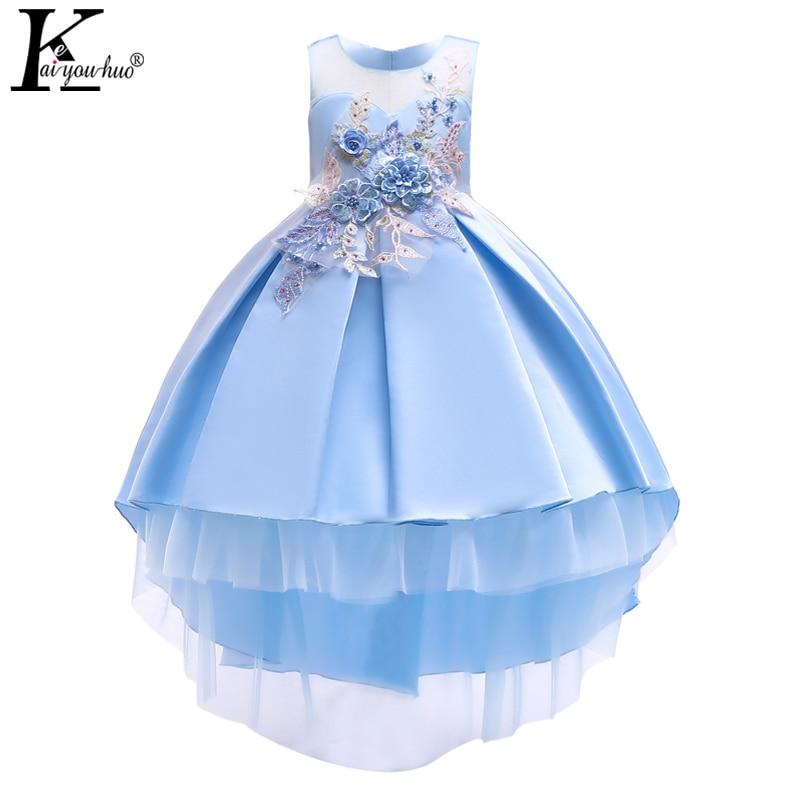 Vestido de Navidad de alta calidad para niñas 2019 Fiesta de Año Nuevo Vestidos de los niños para niñas Vestido de boda de los niños Vestidos de princesa Vestidos