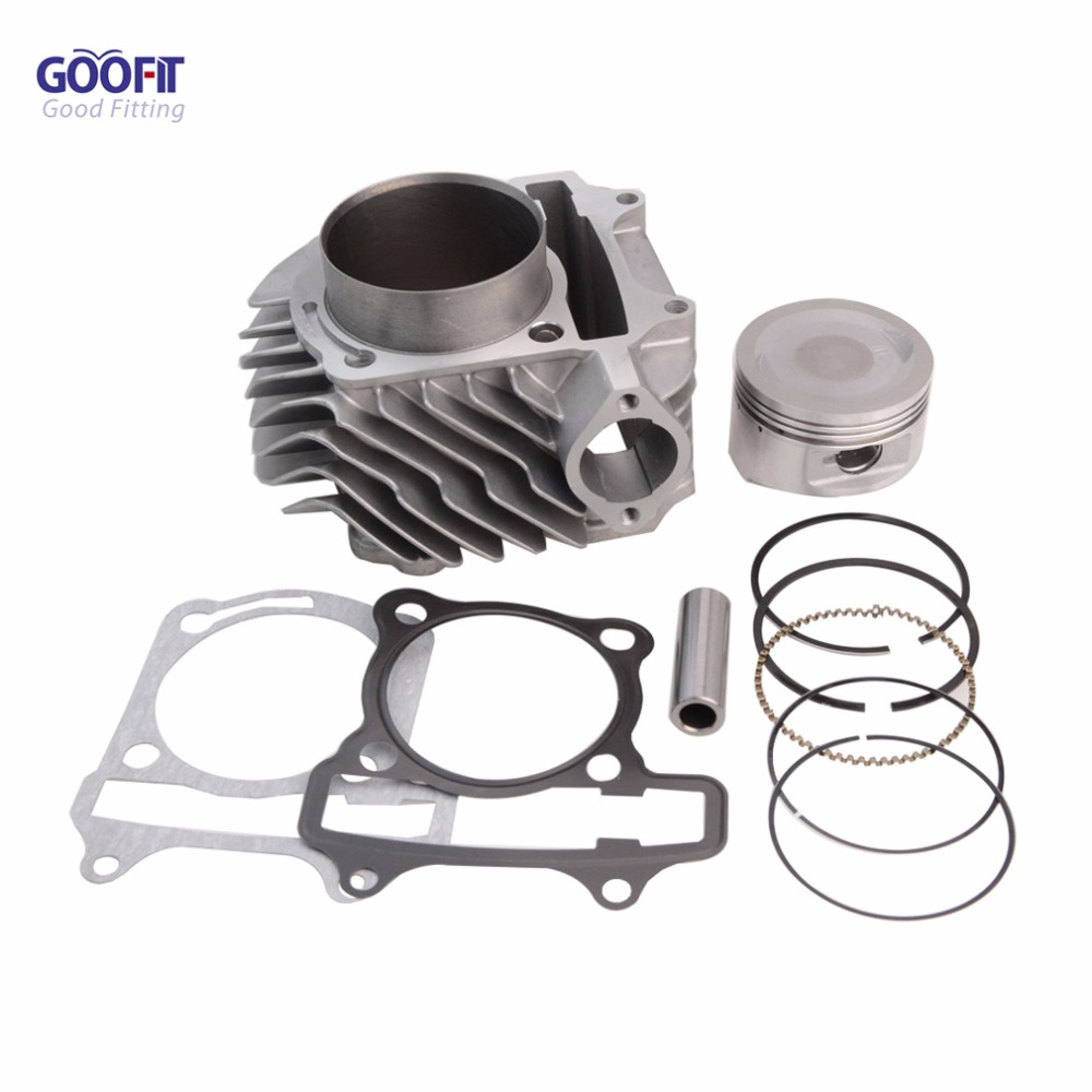GOOFIT 63mm GY6 150cc 180cc 200cc 250cc Cylinder block Assembly for ATV Off-roadvehicle Q001-074