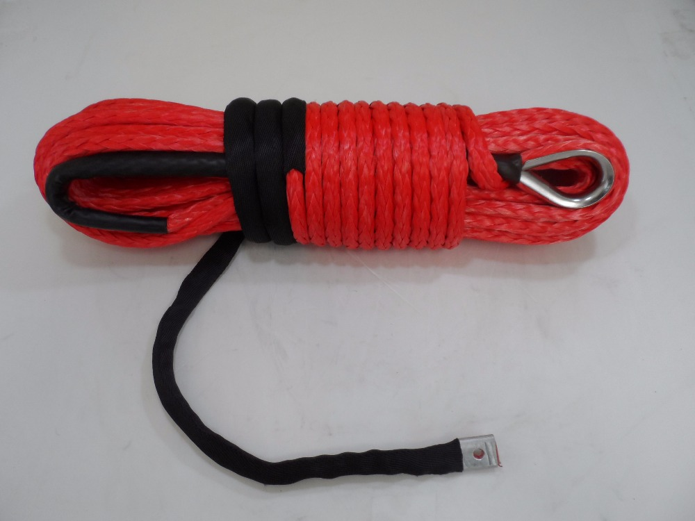 free shipping 12mm*30m uhmwpe rope,winch line for acessaries,4wd winch cable,wheel synthetic rope
