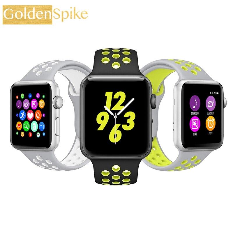 imágenes para Hot New IWO 3 Inteligente Reloj Smartwatch IWO 2 Actualización Del Corazón Monitor del ritmo cardíaco del Bluetooth Reloj W52 Notificador Para IOS Android reloj inteligente