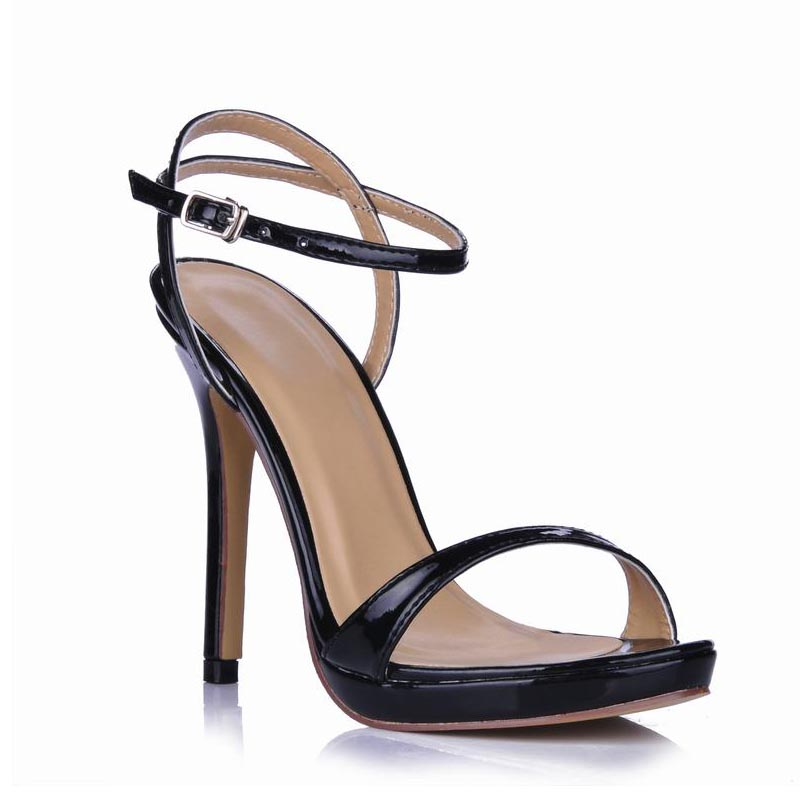Shoes Woman Sandals Platform Sexy Thin High Heels Buckle Women Zapatos Mujer Sapato Feminino Femme Ladies Party Valentine Shoes 2016 rushed sapato feminino women shoes high heel fshion women s pumps ultra high heels platform party dance shoes woman d 17