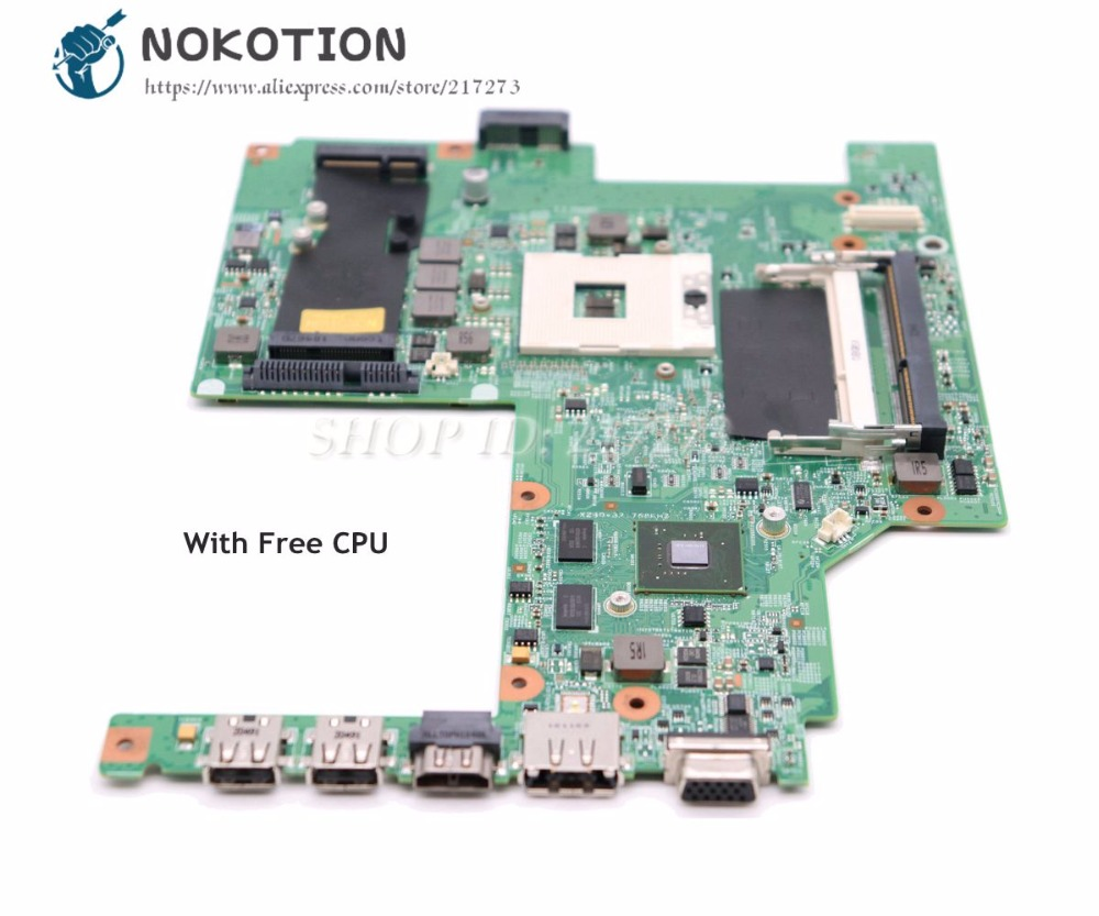 NOKOTION For Dell Vostro 3500 V3500 Laptop Motherboard CN-0W79X4 0W79X4 MAIN BOARD HM57 DDR3 Free CPU GT310MNOKOTION For Dell Vostro 3500 V3500 Laptop Motherboard CN-0W79X4 0W79X4 MAIN BOARD HM57 DDR3 Free CPU GT310M