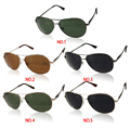 Mens Lens SunGlasses Unisex Metal Frame Polarized Sun Glasses