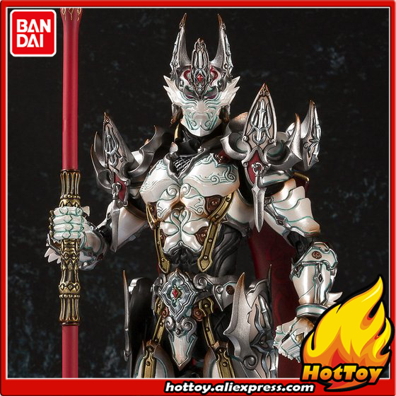100% Original BANDAI Tamashii Nation MAKAI-KADO Exclusive Action Figure - White Night Knight Dan from GARO 100% original bandai tamashii nations s h figuarts shf exclusive action figure garo leon kokuin ver from garo