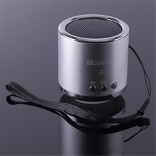 FM Portable Speaker Z12 Mini Subwoofer Music Column Speakers Support USB Micro SD TF Card Mp3/4 For Iphone Laptop PC ojade mini usb 3w mp3 music dual speaker for laptop notebook blue white