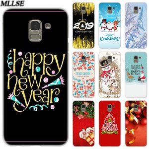 Чехол MLLSE с Рождеством и новым годом для Samsung Galaxy J2 J4 CORE J3 J5 J7 2016 2017 EU J8 J6 2018 J4 Plus J7 Prime