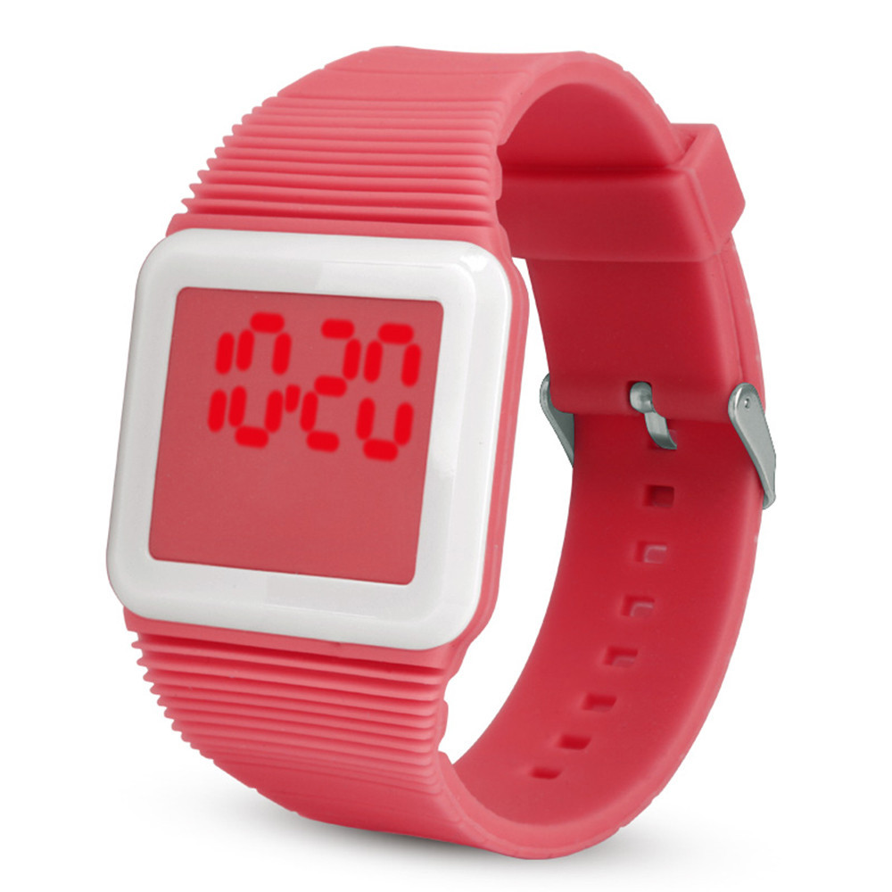 Digital Watch Women Men Zegarek Damski Sportowy Waterproof Sport Watches For Women Men Silicone Watch Reloj Digital Mujer