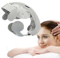 Electric head massage device multifunctional vibration massage machine acupuncture points scalp head massager