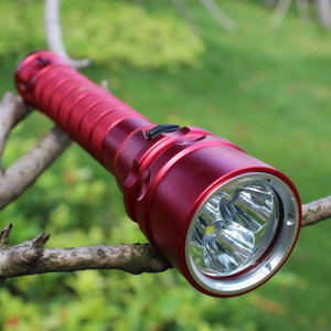Image 2 - Sofirn Red MS11 Cree XML2 Scuba Diving Flashlight 18650 Powerful Dive Light LED Lamp Torch Light Search Light Underwater lantern