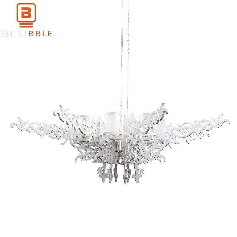 BLUBBLE Dia100cm/130 centímetros Oco Asa Pingente Lâmpada Moderna Iluminação Pingente Luzes Do Quarto Estudo Resina G9 Hanglamp