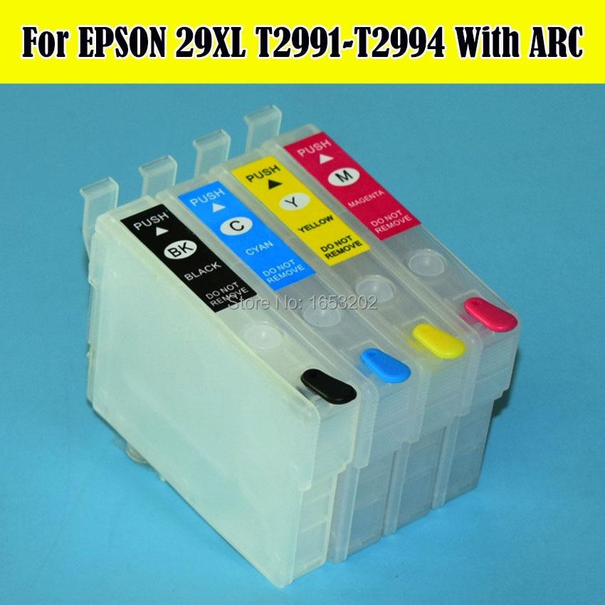 T2991-T2994 29 Cartuccia di Inchiostro Con Il Circuito Integrato ARC Per Epson Expression XP-235 XP-335 XP-245 XP-332 XP342 XP235 XP345 Stampante BMKJ