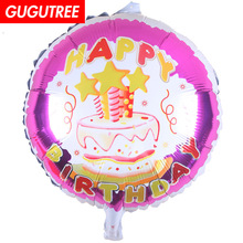 цена Decoration 18inch cake foil 10 pieces balloons wedding event christmas halloween festival birthday party HY-301