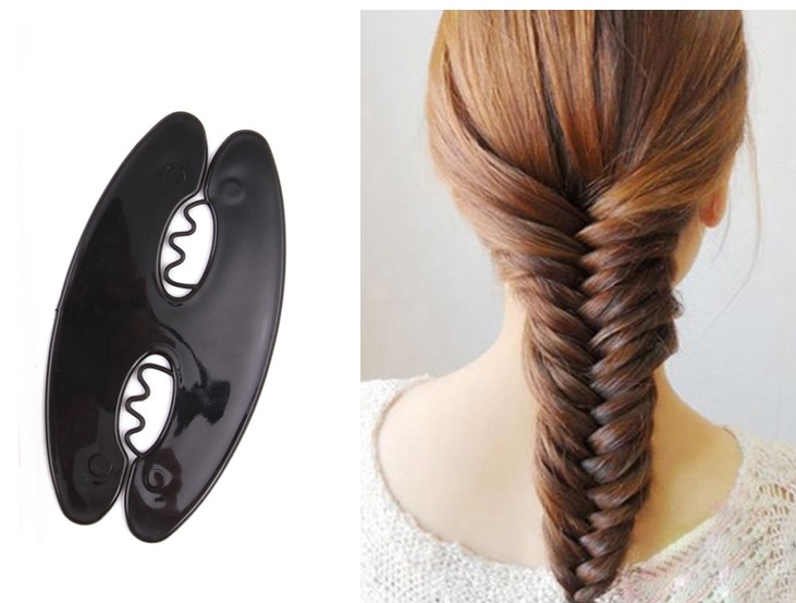 Twist Roller Hair Tools Weave Braid Hair Braider Bun Maker Hair Roller Beauty Tool Braiding Accessories Un trenzar el pelo