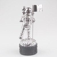 Премия MTV трофей реплики статуя moonman Опора Высокое качество посеребренные 1.1 кг