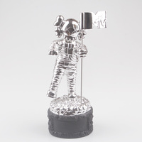 MTV Award Trophy Replica Statue Moonman Prop HIGH QUALITY SILVER PLATED 1.1kg
