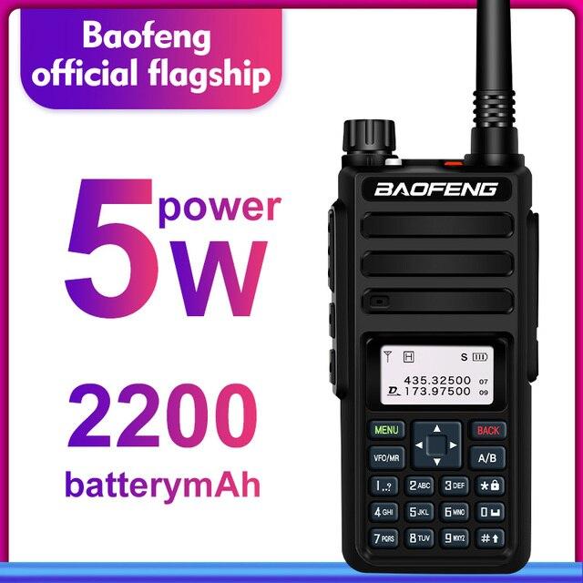 Baofeng DM 1801 デュアルバンドデュアル時間スロット DMR デジタル/アナログ 2Way ラジオ 136 174/400 470 MHz 1024 チャンネルアマチュア無線トランシーバー DMR