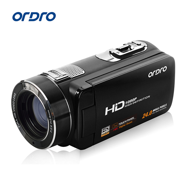 Ordro Camcorder HDV Z8 Plus 1080P FHD Digital Video Camera 30 LCD Touch Screen