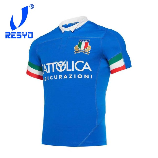 RESYO for 2019 Italy  Men original Home/Away Rugby Jersey Size:S-3XL Free Shipping 1
