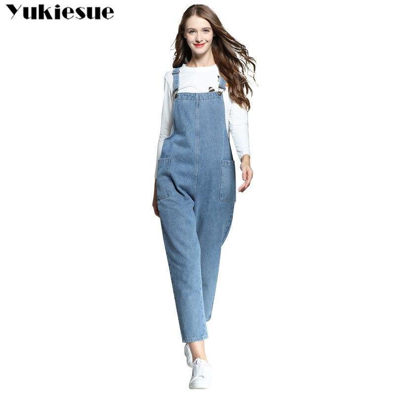 Streetwear Woman's Jeans Denim Women's Overalls Jeans Woman Push Up Cowboy Jumpsuit Suspender Trouser Female Jeans Plus Size 5xl