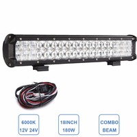 5D 180W Offroad LED Light Bar Combo Car Truck Trailer ATV UTE AWD 4X4 Wagon Pickup