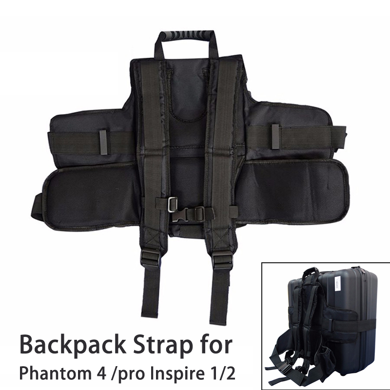 Carrying Backpack Strap Adapter Belt Suitcase Shoulder Case for DJI Phantom 4 pro Inspire 1 Inspire