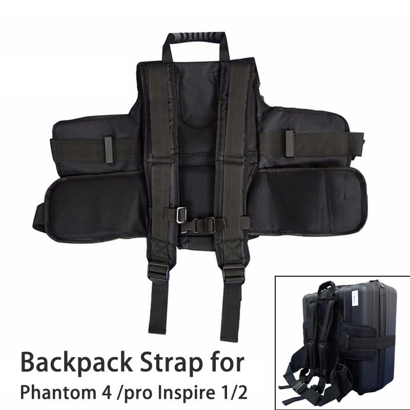 Carrying Backpack Strap Adapter Belt Suitcase Shoulder Case for DJI Phantom 4 /pro Inspire 1 Inspire 2 стоимость