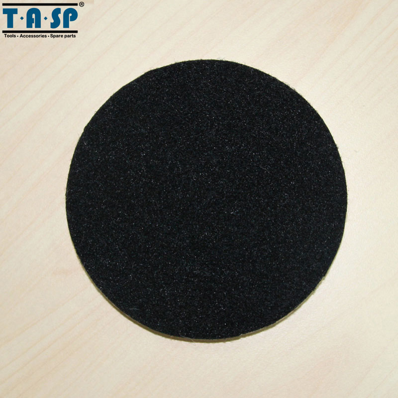 TASP 2 pezzi 125 mm lana lucidatura e lucidatura Pad Hook & Loop per - Utensili elettrici - Fotografia 5