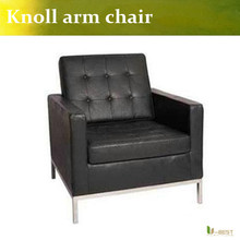 U-BEST high quality Florence Knoll Armchair,Florence Knoll Sofa 1-seater Armchair,knoll leather sofa