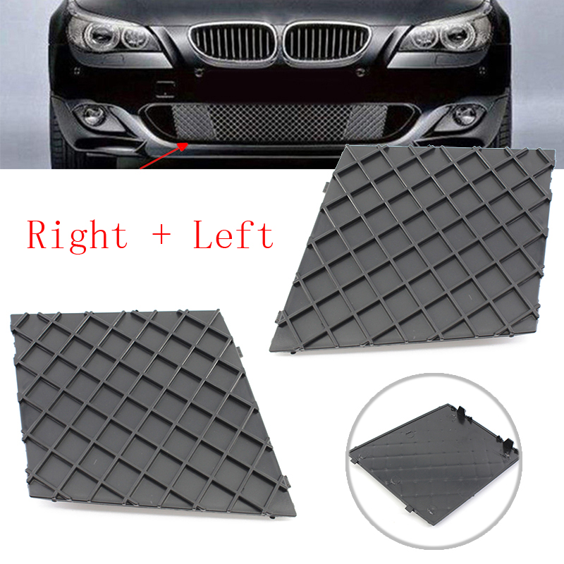 Image 2 - Cars Front L/R Bumper Covers Lower Mesh Grille Trim For BMW E60 E61 M Sport New-in Front & Radiator Grills from Automobiles & Motorcycles