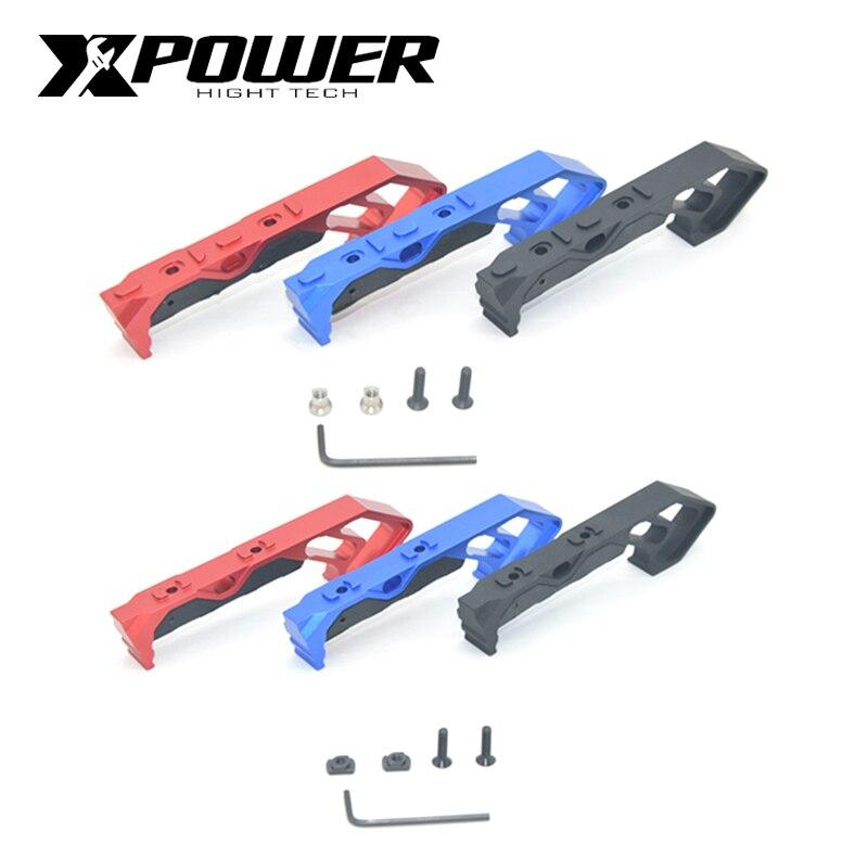 XP XPOWER Keymod M manija de bloqueo CNC aleación de aluminio accesorios juguetes novedad