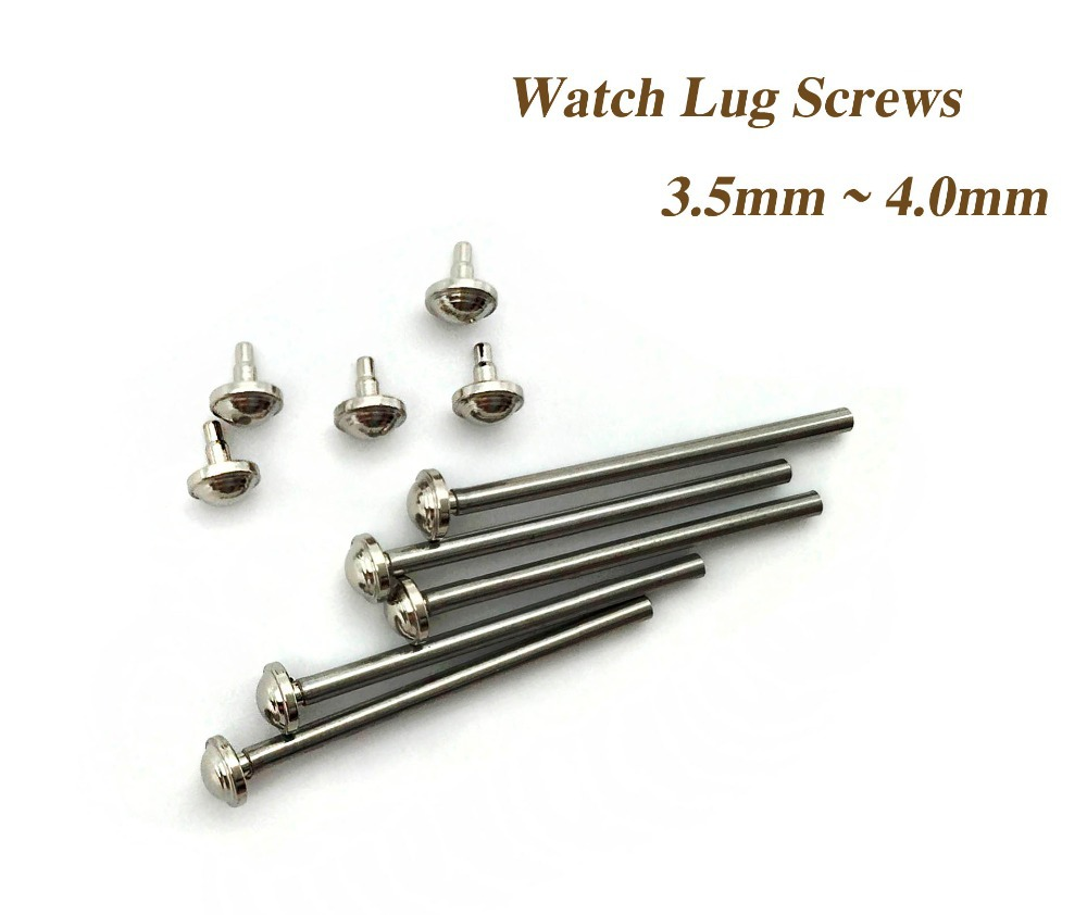 5 Size Stainless Steel Watch Band Spring Bar Strap Link Pins Repair Tool -- Watch Parts Lug Screw 16 - 24mm Herramientas