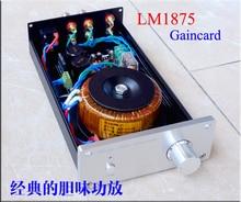 2019 نسيم الصوت مخصص كلاسيكي أسود الذهب تذكارية الطبعة LM1875/LM3886 الانتهاء مكبر للصوت