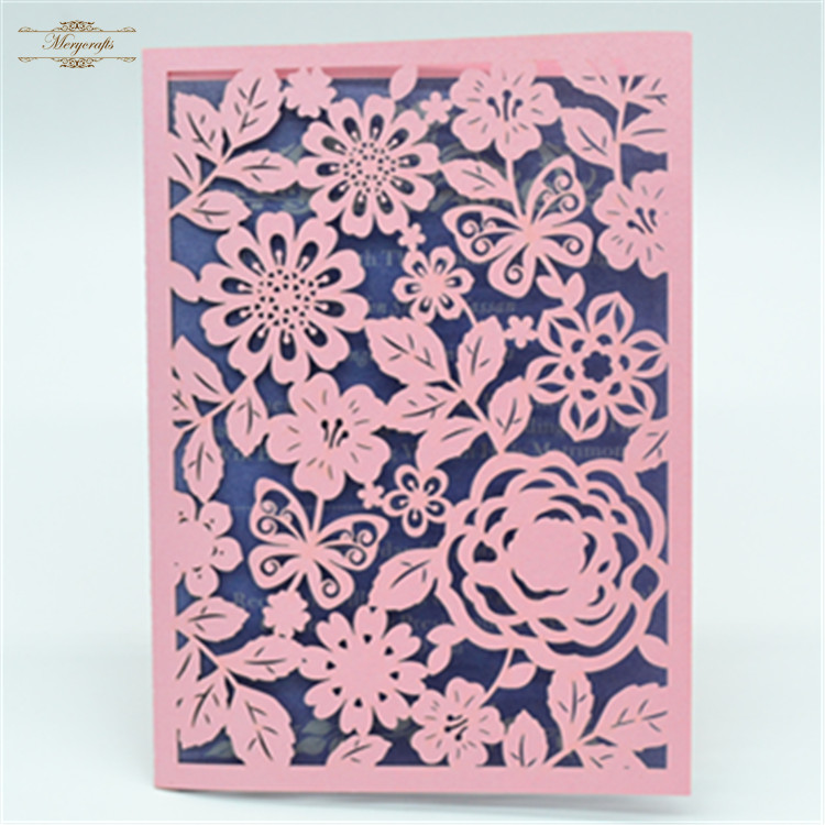 de boda modernas rosa mariposa feliz cumpleaos tarjeta de mainland
