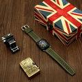 Для Apple Watch Series 4  холст + кожаный ремешок для часов  аксессуары  детали для наручных браслетов для Apple Watch 1  2  3  38 мм  42 мм