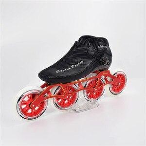 Image 2 - CITYRUN Champion 4 roues pour course de piste, pour compétition, patins de vitesses en ligne, 4x110mm, 4x100mm, 4x90mm, roue 110mm 100mm