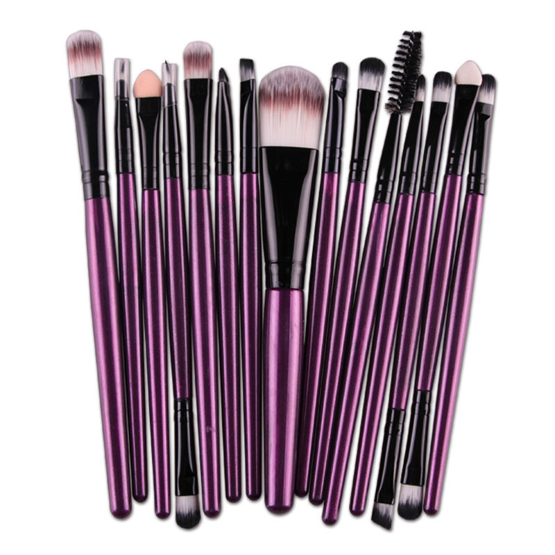 15 pcs/Sets Makeup Brushes Set Eye Shadow