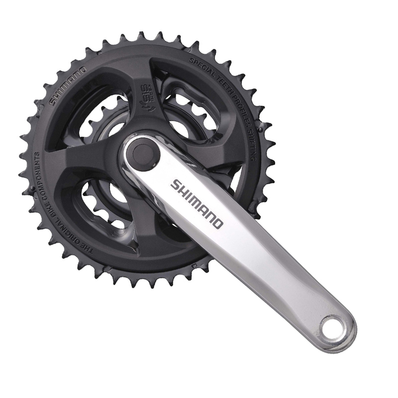 SHIMANO FC M131 Tourney 8S 24S Crankset Bicycle Components MTB Mountain Bike Chain Wheel Accessory