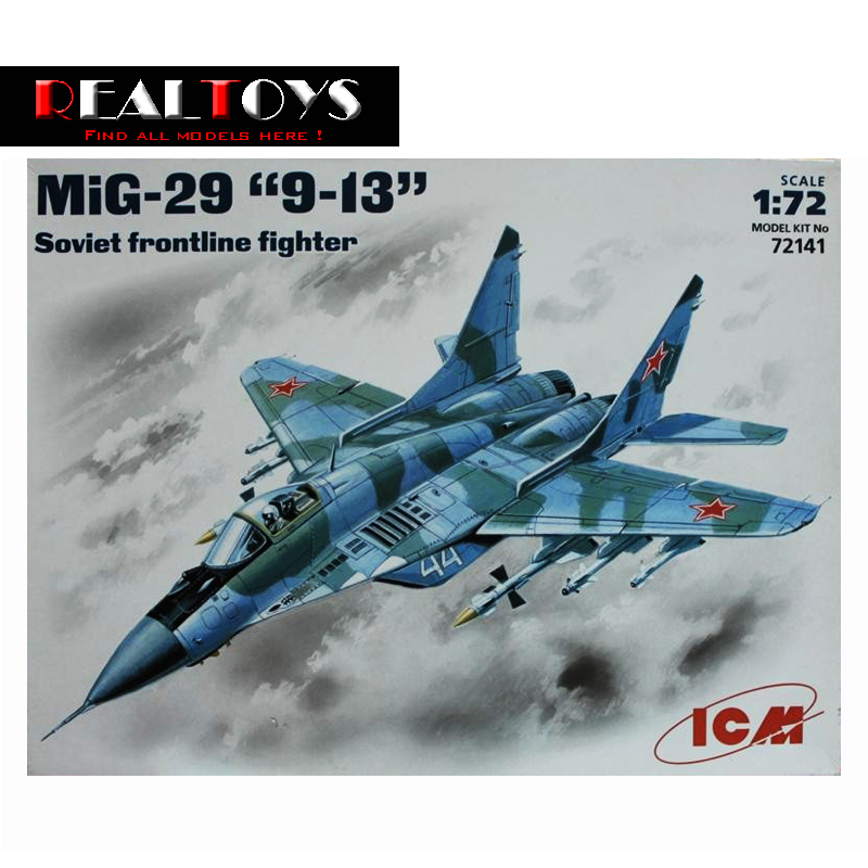 ICM model 72141 1 72 MiG 29 9 13 Fulcrum C Soviet Frontline Fighter plastic model